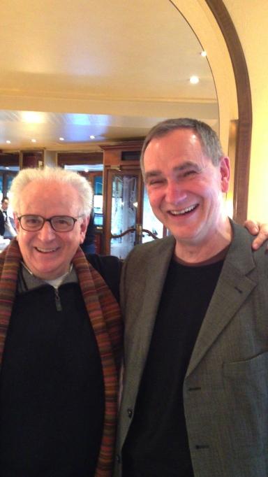The Translators: Eustaquio Barjan and Zarko Radakovic