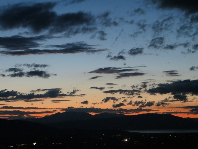 Conjunction of Planets over Utah Valley
