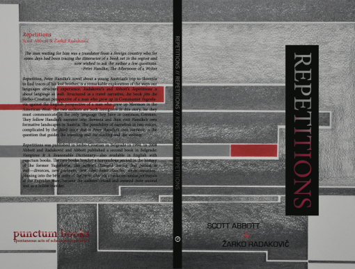 Back and Front Covers: REPETITIONS