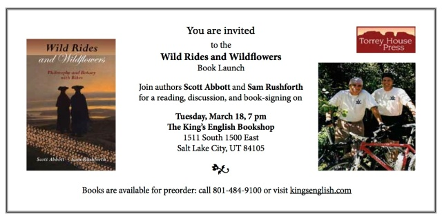 Invitation to a Book Launch: Wild Rides & Wildflowers